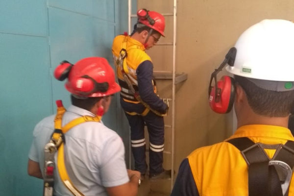 Practical 'Work at Height training'